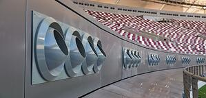 Khalifa Stadium Cooling Vents