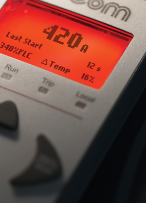EMX4 Soft Starter Status Screen
