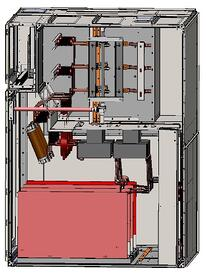 AuCom MVE L-Series Medium Voltage Soft Starter Panel Drawing