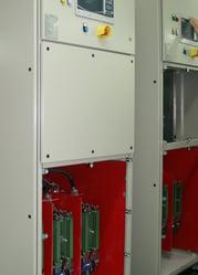 MVE M-Series Medium Voltage Soft Starter Panel Open Front