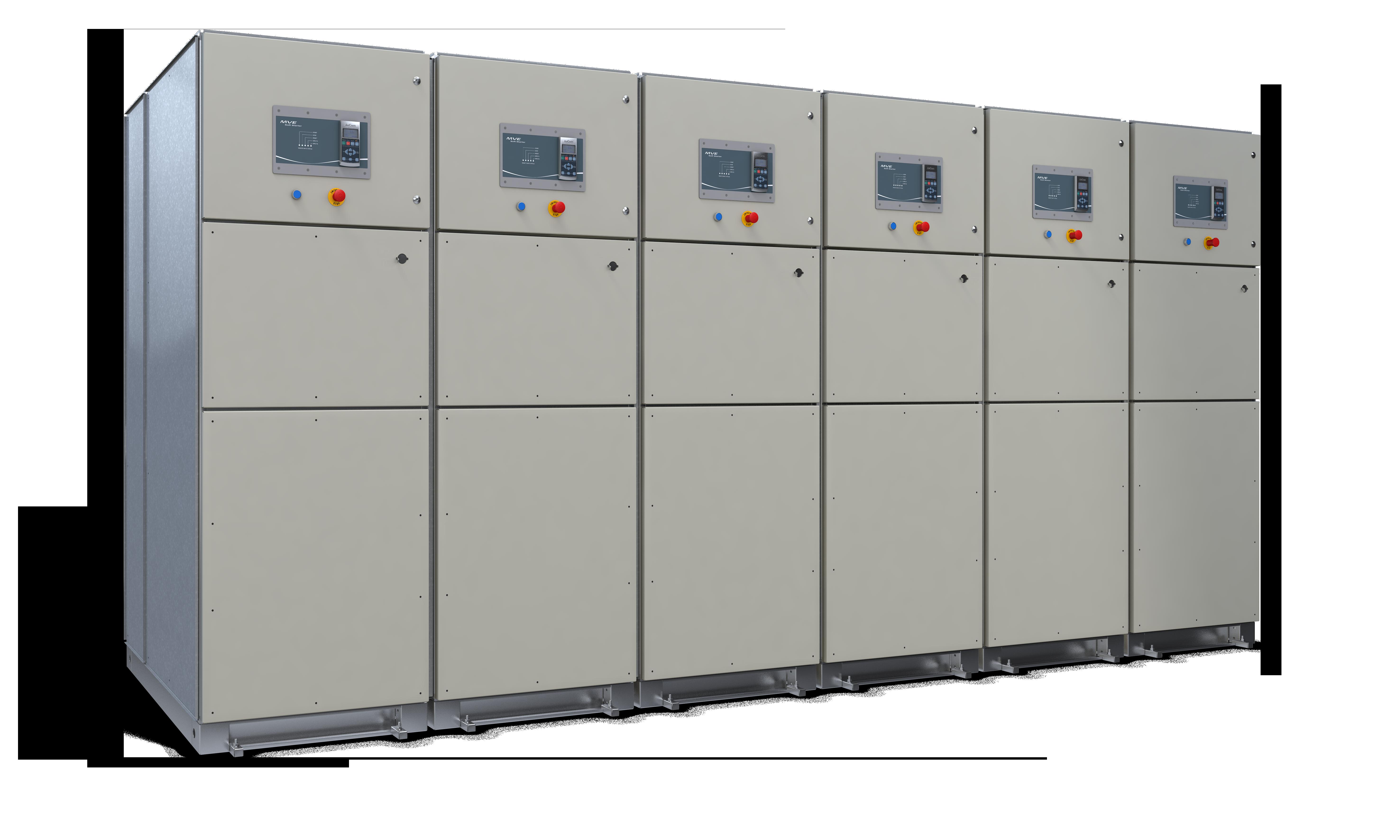 MVE M-Series Medium Voltage Soft Starter Panel