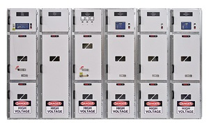 AuCom Medium Voltage Panel Lineup