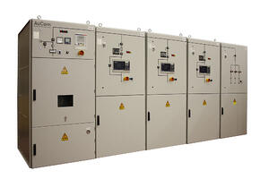 MVE L-Series Medium Voltage Soft Starter Panel Lineup