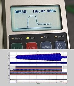 MV Medium Voltage Soft Starter User Interface