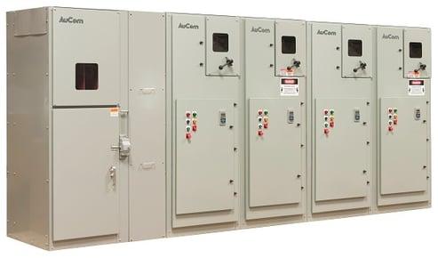 MVE Medium Voltage Soft Starter NEMA Panel Lineup