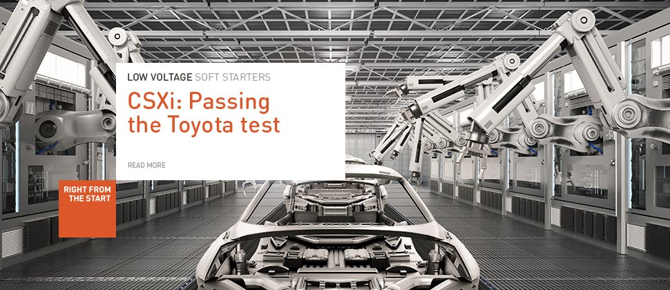 CSXi Toyota Factory Case Study